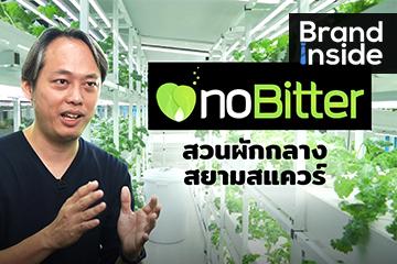 กินผักให้ปลอดภัยกับ noBitter โรงปลูกผักไฮโดรที่ใหญ่ที่สุด กลางสยามสแควร์